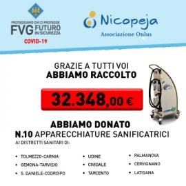"""Raccolta fondi """"EMERGENZA COVID19 – Proteggiamo chi ci protegge – FVG FUTURO IN SICUREZZA"""""""